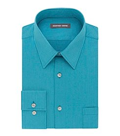 Geoffrey Beene® Men's Long Sleeve Fitted Microchip Dress Shirt