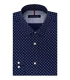 Tommy Hilfiger® Men's Long Sleeve Slim Fit Non Iron Dress Shirt