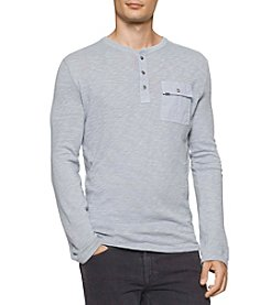 Calvin Klein Men's Long Sleeve Surplus Henley