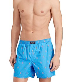 Polo Ralph Lauren® Men's Printed Polo Player Hanging Boxers