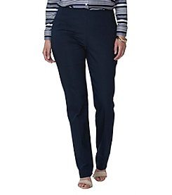 Chaps® Plus Size Stretch Straight Pants