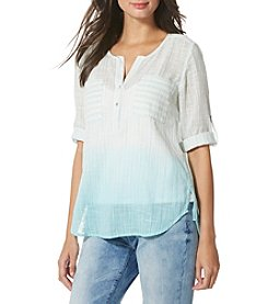 Vintage America Blues™ Striped Slub Popover Top