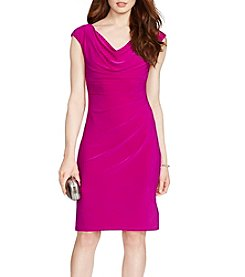 Lauren Ralph Lauren® Matte Jersey Sheath Dress