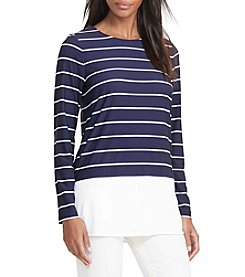 Lauren Ralph Lauren® Striped Jersey Top