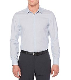 Perry Ellis® Men's Long Sleeve Stripe Woven Button Down