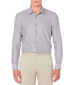 Perry Ellis® Men's Long Sleeve Woven Button Down