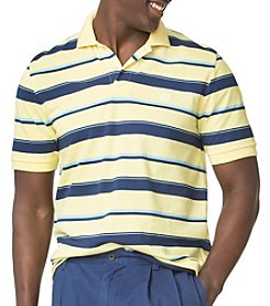 Chaps® Men's Big & Tall Auto Stripe Polo