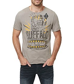 Buffalo by David Bitton Men's Short Sleeve Ardent Crewneck Graphic Tee