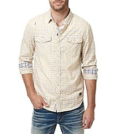 Buffalo by David Bitton Men's Long Sleeve Saconsta Plaid Woven Shirt