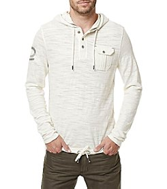 Buffalo by David Bitton Men's Kifaro Long Sleeve Hooded Pullover