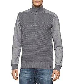 Calvin Klein Men's Ottoman 1/4 Zip Sweater