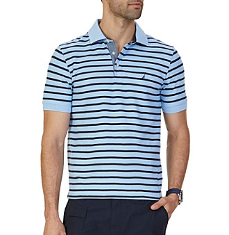 Nautica® Men's Short Sleeve New Stripe Deck Shirt