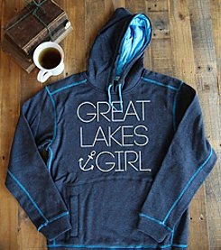 Livnfresh™ Women's Great Lakes Girl Hoodie