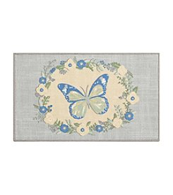Nourison Essential Elements Butterfly Accent Rug