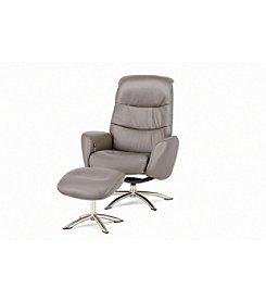 Palliser® Quantum Granite Chair & Ottoman