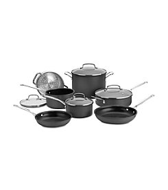 Cuisinart® 11-pc. Chef's Classic Non-Stick Hard Anodized Cookware Set
