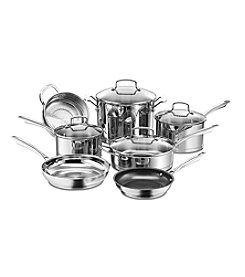 Cuisinart® 11-pc. Professional Stainless Steel Cookware Set