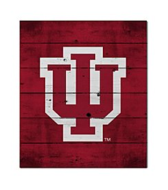 Kindred Hearts NCAA® Indiana Hoosiers Logo Pallet Wall Art