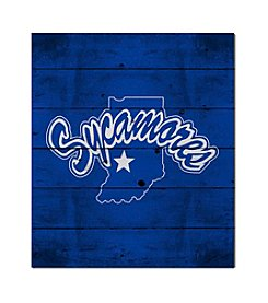 Kindred Hearts NCAA® Indiana State Sycamores Logo Pallet
