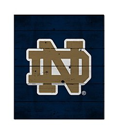 Kindred Hearts NCAA® Notre Dame Fighting Irish Logo Pallet Wall Art