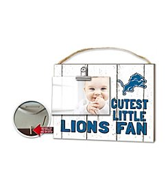 Kindred Hearts NFL® Detroit Lions Fan Baby Frame