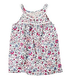Carter's® Girls' 2T-6X Floral Printed Sleeveless Tank Top