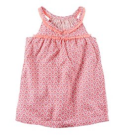 Carter's® Girls' 2T-8 Printed Sleeveless Tank Top