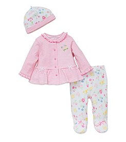 Little Me® Baby Girls' 3-Piece Spring Floral Set