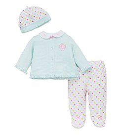 Little Me® Baby Girls' 3-Piece Sweetheart Set
