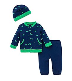 Little Me® Baby Boys 3-Piece Whale Icon Set