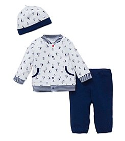 Little Me® Baby Boys 3-Piece Nautical Set