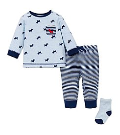 Little Me® Baby Boys 3-Piece Puppy Jogger Set