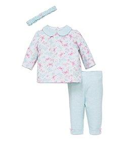 Little Me® Baby Girls' 3-Piece Butterfly Tunic Set