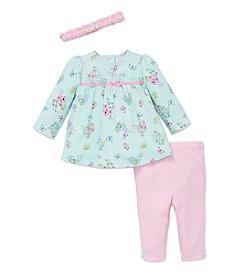 Little Me® Baby Girls' 3-Piece Botanical Tunic Set