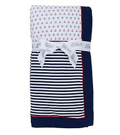Little Me® Baby Boys Simple Sailor Blanket