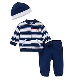 Little Me® Baby Boys 3-Piece Anchor Jacket Set