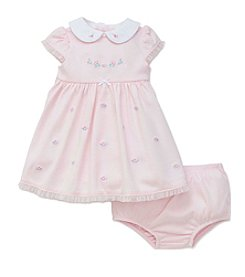 Little Me® Baby Girls' Fancy Flowers Dress With Panties