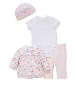 Little Me® Baby Girls' 4-Piece Floral Fancy Set