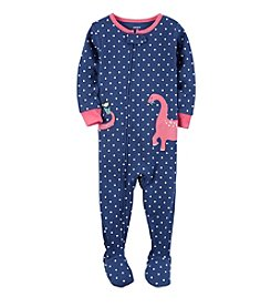 Carter's® Girls' 2T-4T Polka-Dot Dino 1-Piece