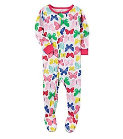 Carter's® Girls' 2T-4T Butterfly Printed Sleeper