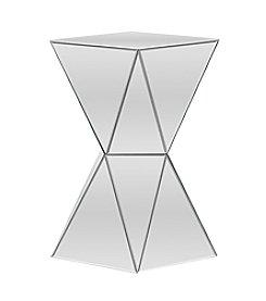 Baxton Studios Rebecca Mirrored Side Table