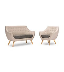Baxton Studios Astrid Living Room Set
