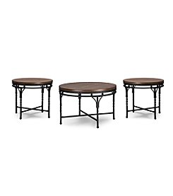 Baxton Studios Austin 3-Pc Table Set