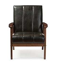 Baxton Studios Nikko Lounge Chair