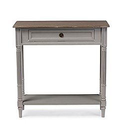 Baxton Studios Edouard 1-Drawer Console Table