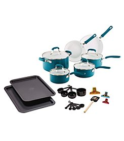 Guy Fieri 25-pc. Turquoise Ceramic Cookware Set