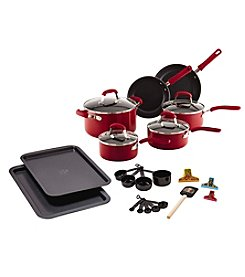 Guy Fieri 25-pc. Red Nonstick Aluminum Cookware Set