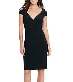 Lauren Ralph Lauren® Cold-Shoulder Sheath Dress