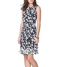 Chaps® Waverly Crepe Dress