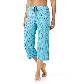 Cuddl Duds® Print Pajama Capri Pants